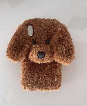 Suesse Handytasche mit Hund Iphone X