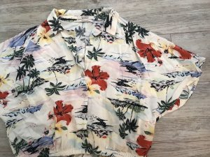 Süße Hawaii Look Kurzbluse