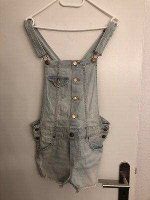 süße helle Denim Jeans Latzhose von H&M