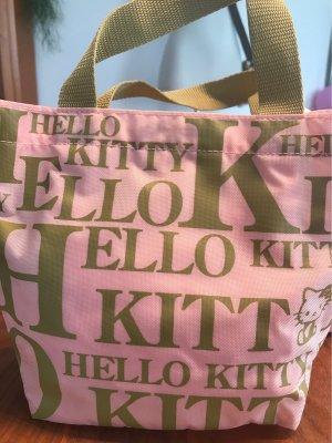 Hello kitty Mini sac ocre-rosé
