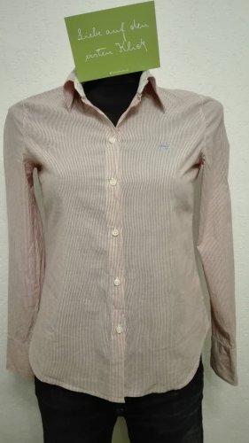 Süße Hemdbluse von Esprit Gr. S rot weiß gestreift