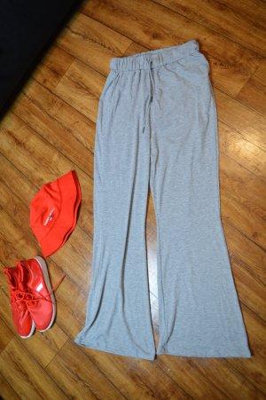 SheIn Pantalone fitness grigio chiaro