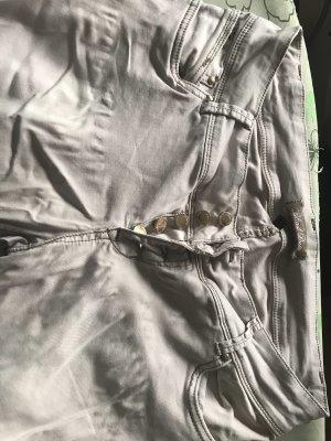 Blind Date Pantalone elasticizzato beige chiaro