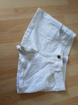 Süße Hot-Pants / weiß