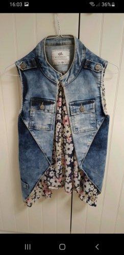 Westpoint Smanicato jeans blu