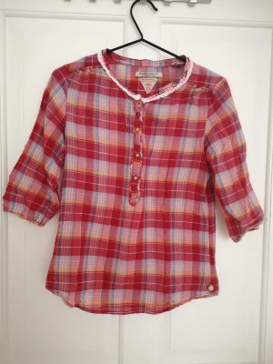 Maison Scotch Checked Blouse multicolored
