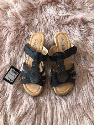 Süße Keilabsatz-Sandalen 38 neu