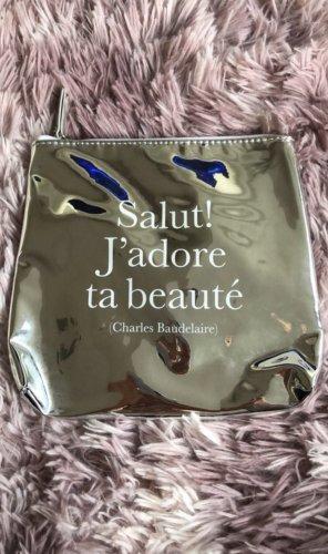Süße Kosmetiktasche mit französischem Spruch