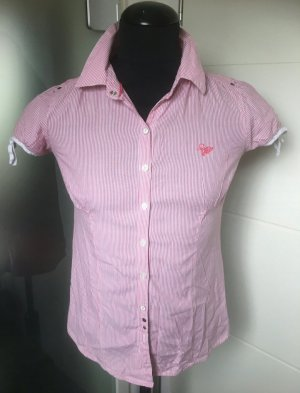 süße Kurzarm Bluse Soccx rosa 40 L