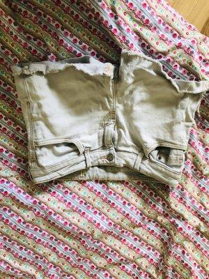 ** Süße kurze helle Jeansshorts Shorts **