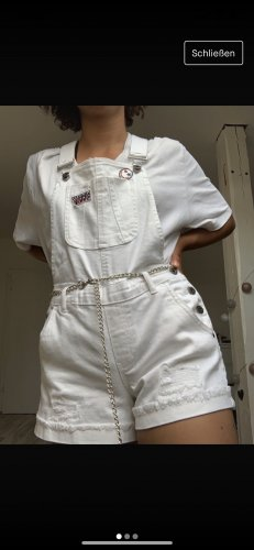 Bib Denim white
