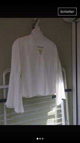 Tigha Long Sleeve Blouse white