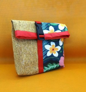 Süße Mini Bag /Kosmetiktasche / Maskentasche #zerowaste #Upcycling