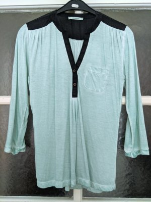 Süße mintfarbene Bluse von Wunderwerk, Fair Fashion