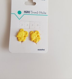 Earclip yellow