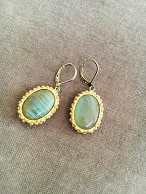Juwelier Orecchino a pendente verde chiaro-giallo scuro Metallo