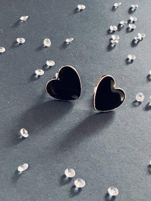 Süße Ohrringe,  gold  und schwarz Farbende , sehen echt süß aus am Ohr . Top.