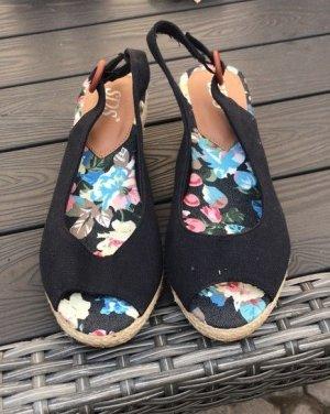 Süße Peeptoe Wedges Schuhe