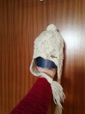 Tommy Hilfiger Bobble Hat natural white