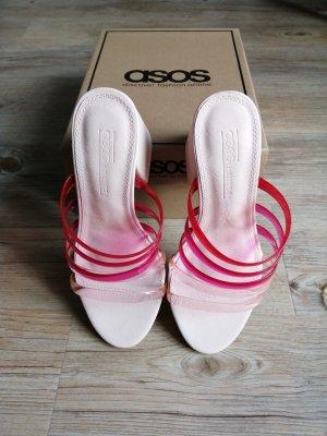 Asos Shoes Półbuty na niskiej koturnie Wielokolorowy