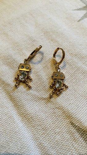 Accessoires Wiszące kolczyki złoto