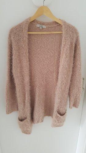 C&A Giacca in maglia rosa antico
