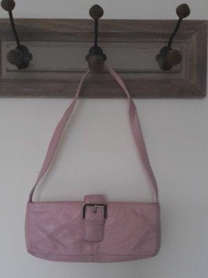 Süße rosa Leder Clutch