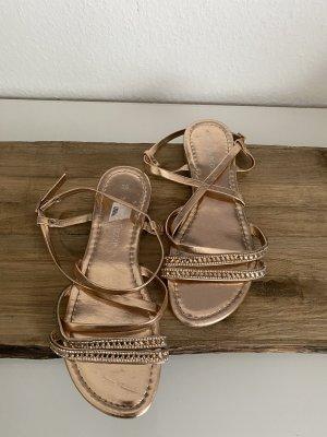 Süße rosé farbene Sandaletten für den Sommer neuwertig