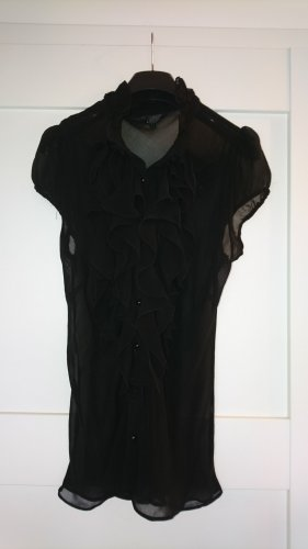 Ange Paris Ruffled Blouse black