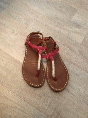 Roxy Teenslippers bruin-roze