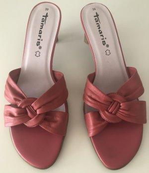 Süße Sandaletten in altrosa! Neuwertig!