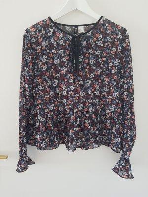 süße Schößchen-Bluse