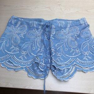 Süsse Short spitze hellblau