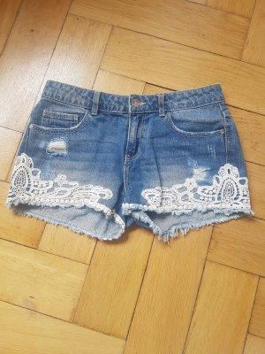 Denim Pimkie Denim Shorts white-blue