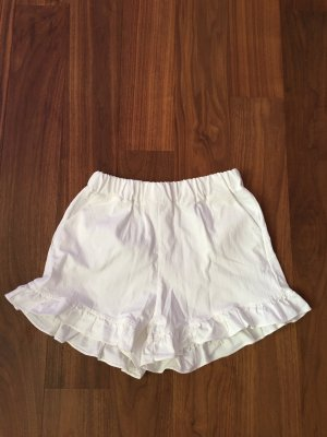 no name Short taille haute blanc