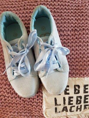 High Top Sneaker baby blue-azure