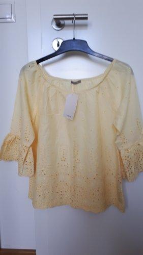 Orsay Top koszulowy jasnożółty-żółty