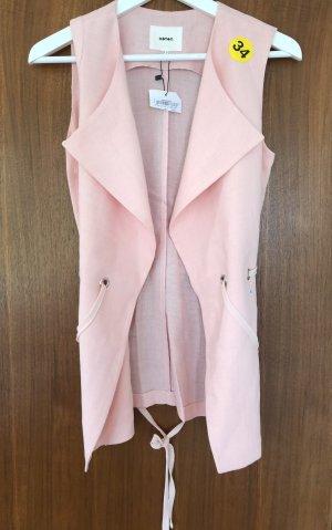 Koton Gilet long tricoté rosé