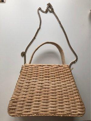 Zara Accesoires Bolso tipo cesta multicolor