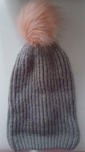 mister*lady Sombrero de punto gris oscuro
