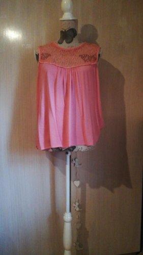 Vero Moda Top di merletto rosa