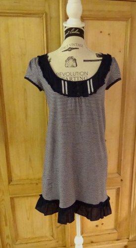 edc by Esprit Shirt Tunic white-dark blue