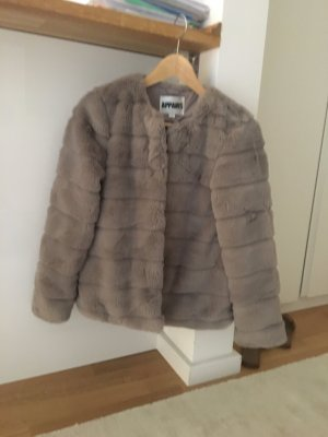 Pelt Jacket grey brown pelt
