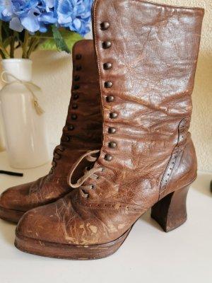 Dick Boons Botas con cordones marrón