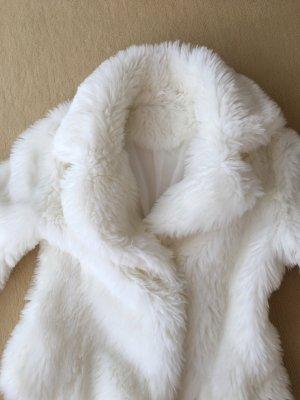 Orsay Fake Fur Jacket white fake fur