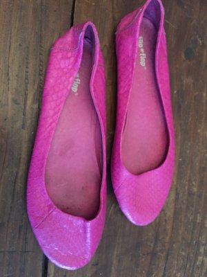 Süsse weiche Ballerinas Flip Flop Pink 40