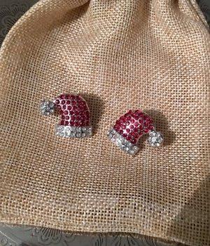 Süße Weihnachtsmotiv-Ohrringe