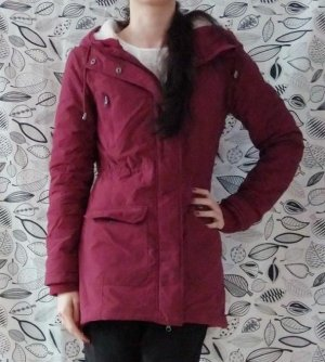 Colours of the World Parka bordeaux Tessuto misto