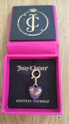 Süßer Anhänger -lila Herz- von Juicy Couture