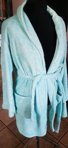 Bathrobe turquoise-mint